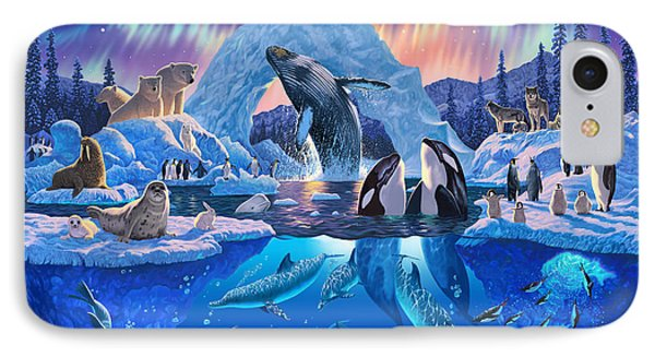 Arctic Harmony IPhone 7 Case by Chris Heitt