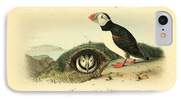 Arctic Puffin Phone Case by Philip Ralley