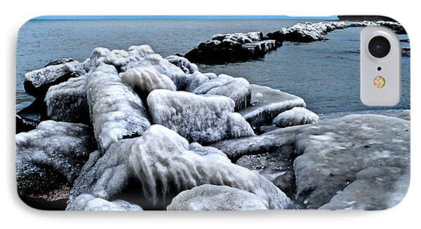 Arctic Waters Phone Case by Frozen in Time Fine Art Photography