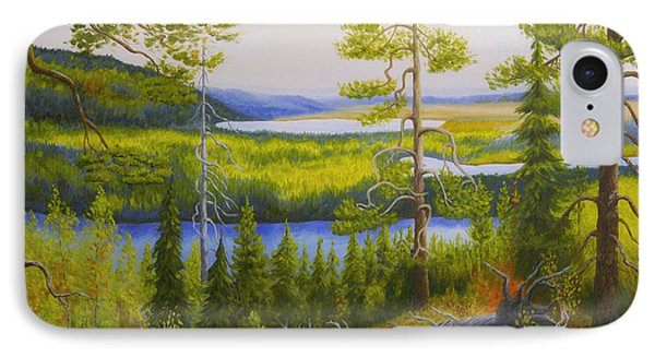 Arctic Wilderness IPhone Case by Veikko Suikkanen