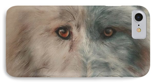 Arctic Wolf IPhone Case by Cherise Foster