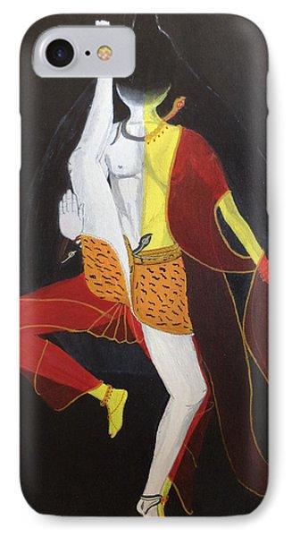 Ardhanarishwar Phone Case by Pratyasha Nithin