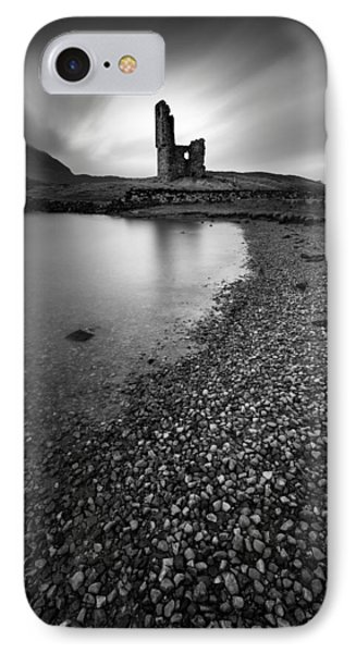 Ardvreck Castle 2 IPhone Case by Dave Bowman
