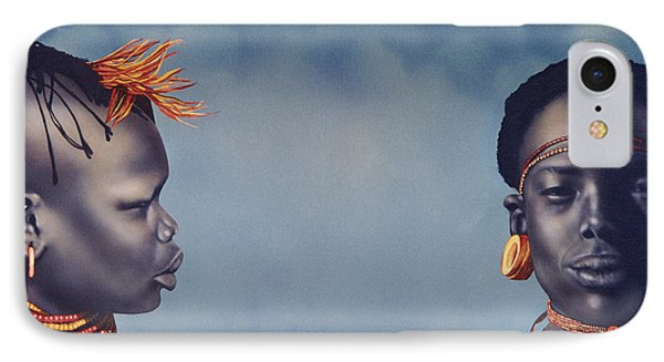 Are You Listening To Me IPhone Case