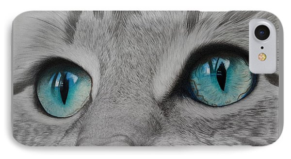 Are You Talking To Me IPhone Case by Anik