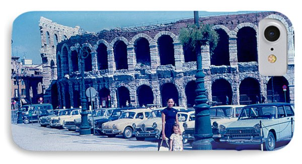 Arena Verona Italy 1962 Phone Case by Cumberland Warden