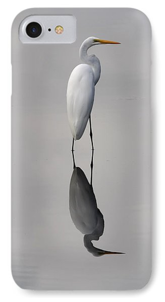 IPhone Case featuring the photograph Argent Mirror by Paul Rebmann
