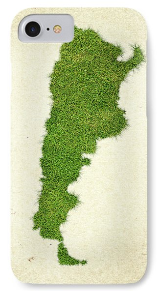 Argentina Grass Map IPhone Case
