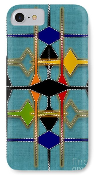 Argyle Re-make IPhone Case by Darla Wood