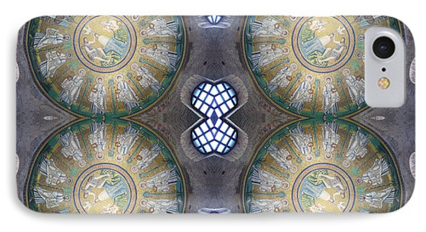 Arian Baptistry Mosaics Ravenna Italy IPhone Case by Andy Prendy