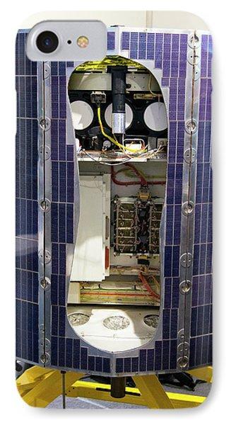 Ariel V Satellite Exhibit. IPhone Case by Mark Williamson