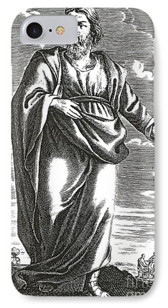 Aristippus Of Cyrene, Ancient Greek IPhone Case by Science Source