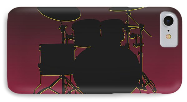 Arizona Cardinals Drum Set IPhone Case by Joe Hamilton
