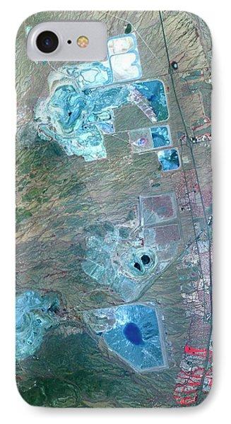 Arizona Copper Mine IPhone Case by Nasa/gsfc/meti/ersdac/jaros, And U.s./japan Aster Science Team