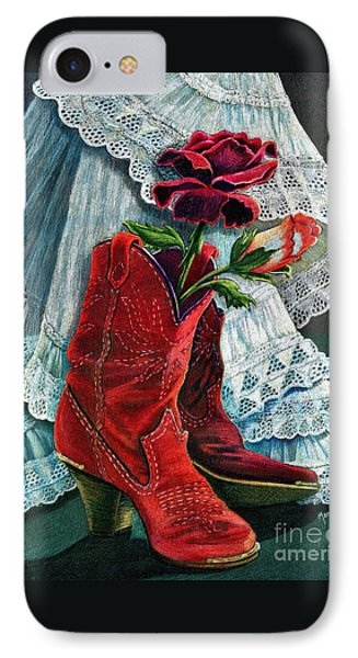 Arizona Rose Phone Case by Marilyn Smith