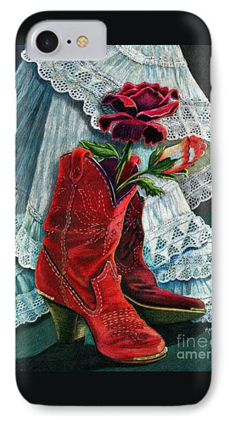 Arizona Rose IPhone Case by Marilyn Smith