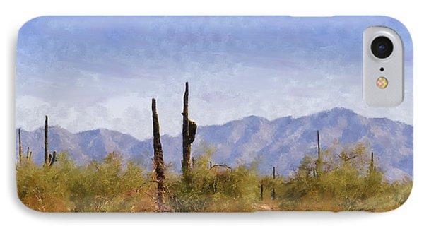 Arizona Sonoran Desert Phone Case by Betty LaRue