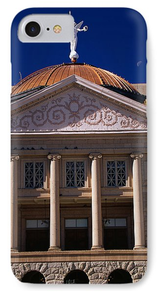 Arizona State Capitol Building Phoenix IPhone Case by Panoramic Images