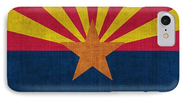 Arizona State Flag IPhone Case by Pixel Chimp