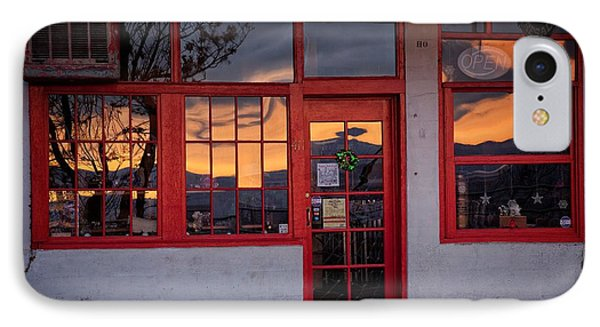 IPhone Case featuring the photograph Arizona Sunrise Reflection by Ron Chilston