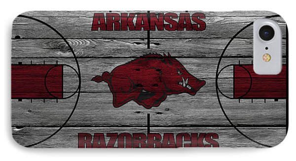Arkansas Razorbacks IPhone Case by Joe Hamilton