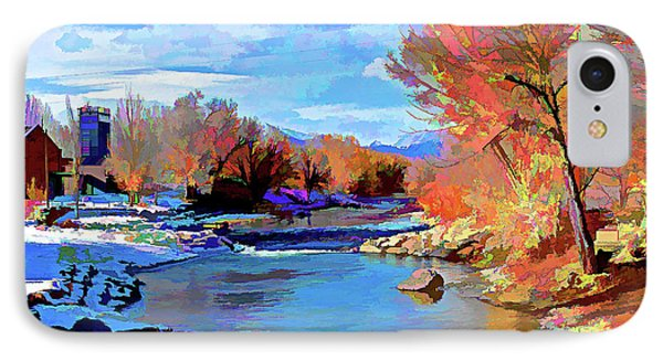 Arkansas River In Salida Co Phone Case by Charles Muhle