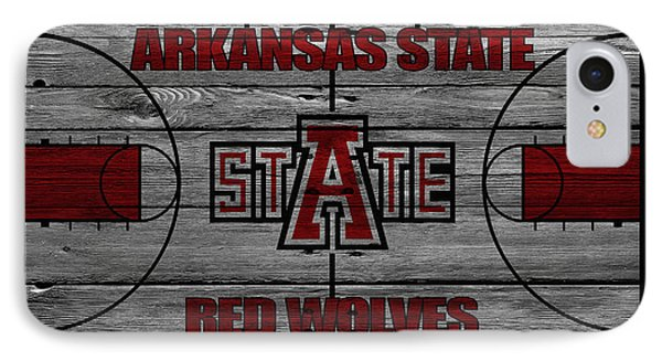 Arkansas State Red Wolves IPhone Case by Joe Hamilton