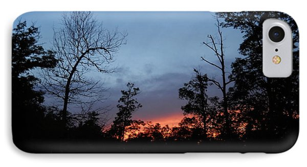 IPhone Case featuring the photograph Arkansas Sunset by Yolanda Raker