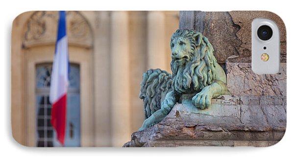 Arles Place De La Republique Phone Case by Brian Jannsen