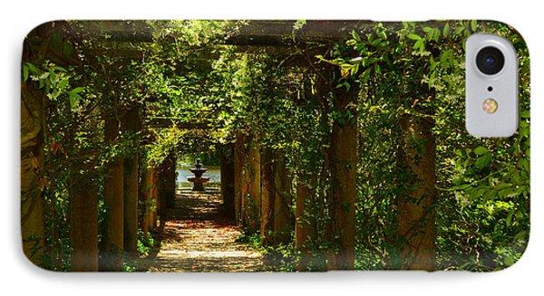 Arlie Italian Pergola Garden IPhone Case