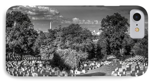 IPhone Case featuring the photograph Arlington Cemetery by Ross Henton