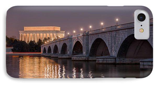 Arlington Memorial Bridge IPhone Case