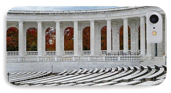 Arlington Memorial Cemetery Amphitheater  IPhone Case