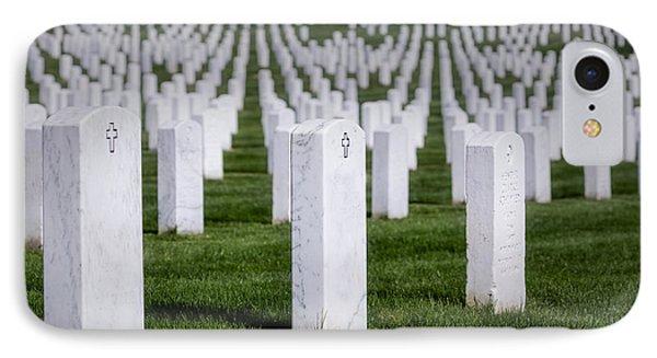 Arlington National Cemeterey IPhone Case by Susan Candelario
