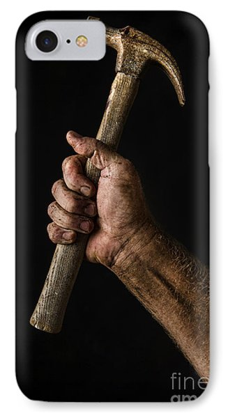 Arm And Hammer IPhone Case by Diane Diederich