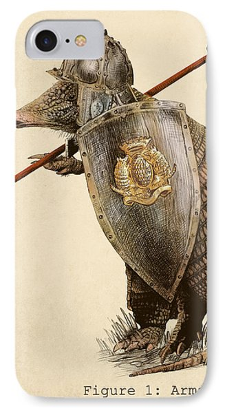 Armadillo IPhone Case by Eric Fan