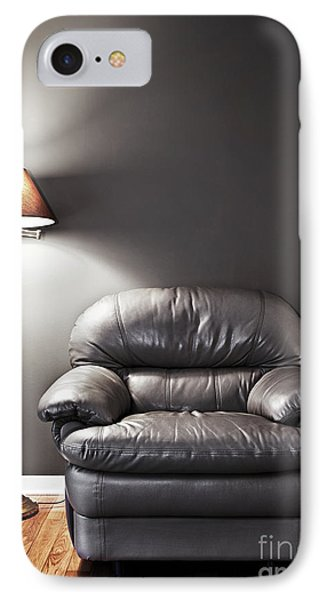 Armchair And Floor Lamp IPhone Case by Elena Elisseeva