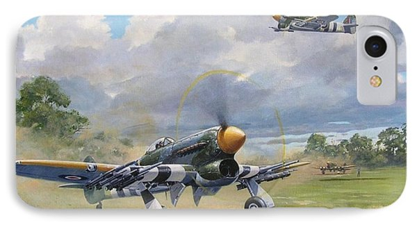 'armed And Dangerous - Typhoon' IPhone Case by Colin Parker