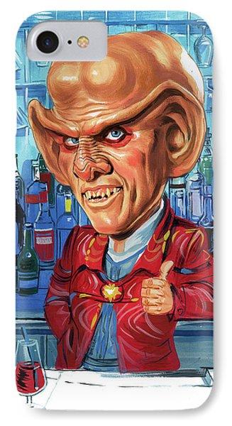 Armin Shimerman As Quark IPhone Case by Art