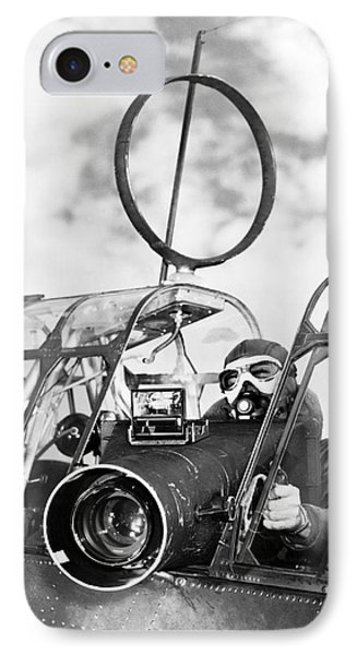 Army Air Force Camera Man IPhone Case by Underwood Archives