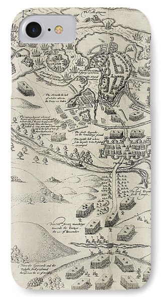 Army Besieging Kinsale In Ireland In 1601 IPhone Case by British Library
