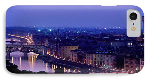 Arno River Florence Italy IPhone Case by Panoramic Images