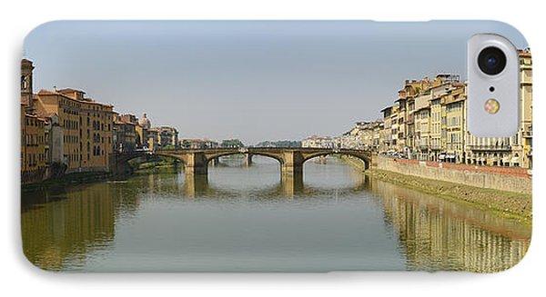 Arno River Panorama IPhone Case