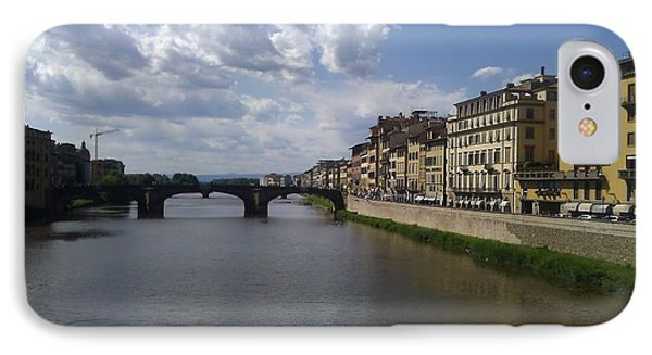 Arno River IPhone Case by Ted Williams