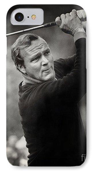 Arnold Palmer Pro-am Golf Photo Pebble Beach Monterey Calif. Circa 1960 IPhone Case by California Views Mr Pat Hathaway Archives