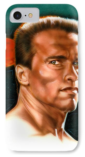 Arnold Phone Case by Timothy Scoggins