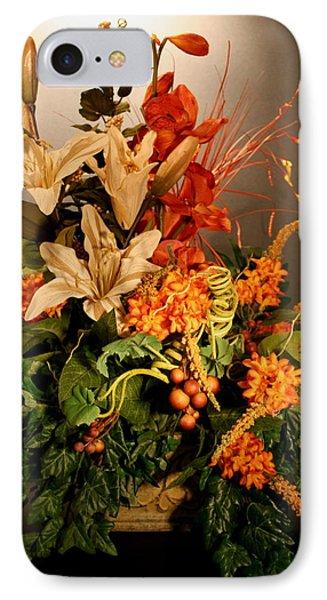 Arrangement Of Flowers Phone Case by Diane Merkle