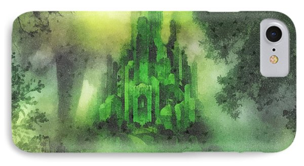 Arrival To Oz IPhone Case by Mo T