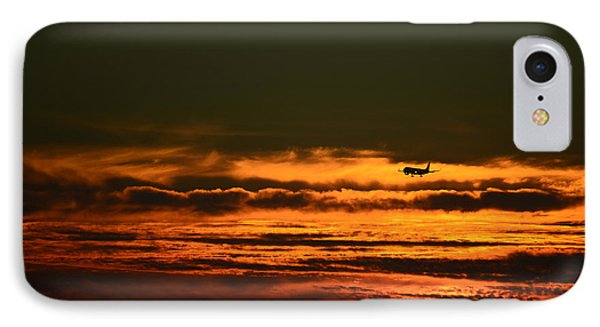IPhone Case featuring the photograph Arriving by Ronda Broatch