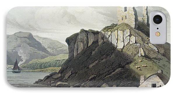 Arros Castle, Isle Of Mull IPhone Case by William Daniell